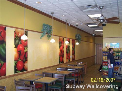 Subway Wallcovering