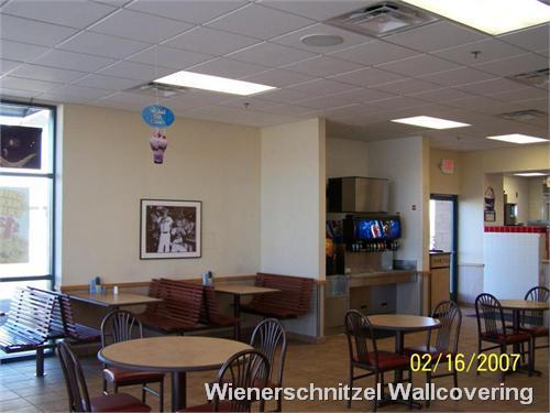 Wienerschnitzel Wallcovering