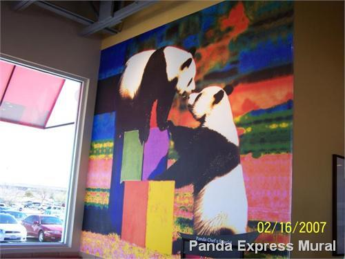 Panda Express Mural