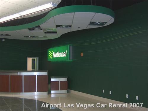 Airport Las Vegas Car Rental 2007
