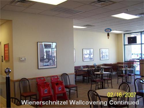 Wienerschnitzel Wallcovering Continued