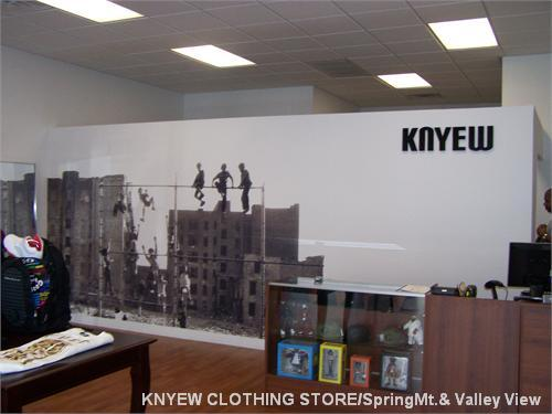KNYEW CLOTHING STORE/SpringMt.& Valley View