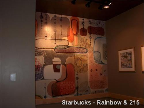 Starbucks - Rainbow & 215