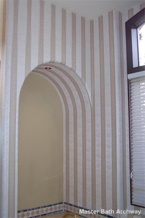Master Bath Archway