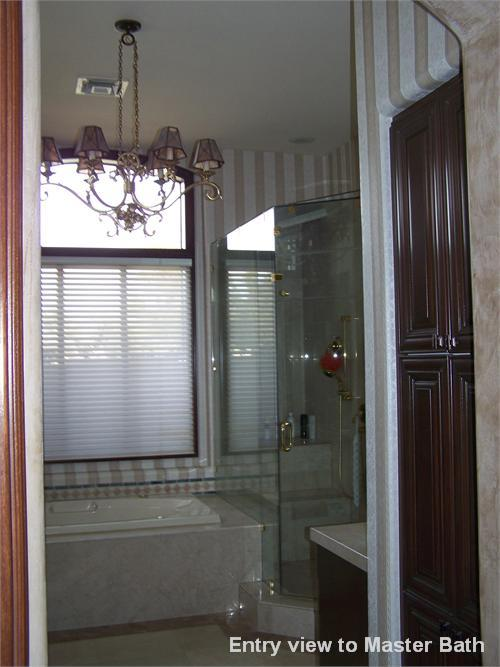 Entry view to Master Bath