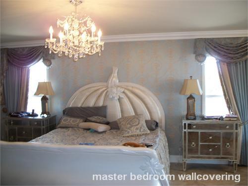 master bedroom wallcovering