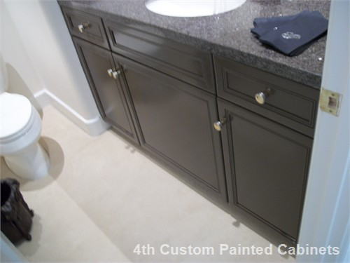 4th Custom Painted Cabinets