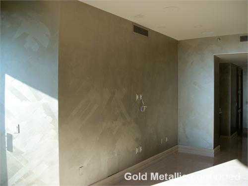 metallic interior paintScuffmaster Metallic Brushed on paint  Licensed Contractor for